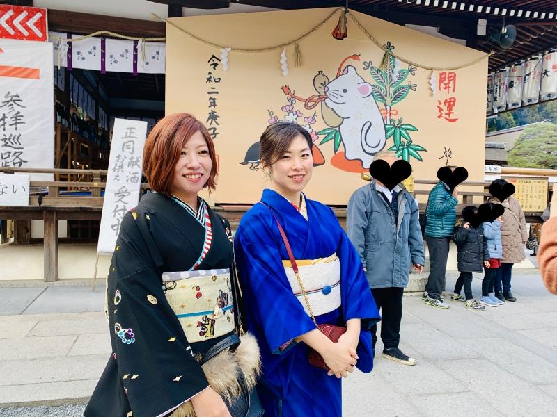 初詣 松尾 大社 松尾大社への初詣と加音新年会